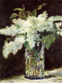 Lilacs  by Edouard Manet