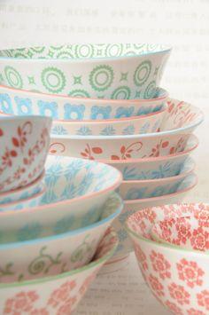 Pattern bowls