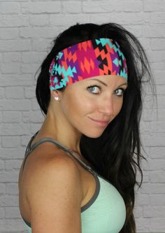 La Azteca Aztec Yoga headband FLAWLESS by Manda Bees by MandaBees, $7