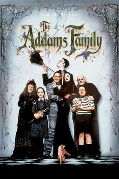 Addams Family....one of the very few TV to movie adaptations that worked and was better (in my opinion)