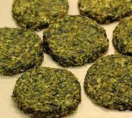 Alkaline Diet Recipe #122: Gluten-Free Spinach Garlic Tofu Burgers - make sure your Tofu is Organic and not GMO