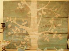 wall decor, artsi fartsi, family trees, artworks, painted trees