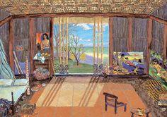 """Puzzle EDUCA """"Estudio de arte de Gauguin"""", 1.500 piezas."""