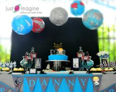 Love the lantern planets - Kara's Party Ideas
