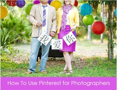 How to use Pinterest for photographers. Great tips!