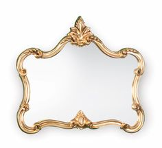 ORNATE GOLD GILT MIRROR, Nice shape