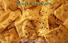Spelt Crackers Recipe