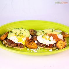 Mario Batali's Huevos Motuleños! #TheChew #Breakfast
