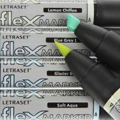 Marcador Flexmarker Letraset