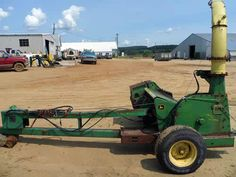 John Deere 3940 harvester salvaged for used parts. Call 877-530-4430. We buy salvage farm equipment. 7 salvage yards in the Midwest. http://www.TractorPartsASAP.com