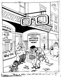 Evening News cartoon, October 1948 From the British Cartoon Archive  This image is under copyright, please see http://www.cartoons.ac.uk/record/JL3901