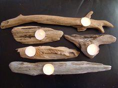 Driftwood Candleholders