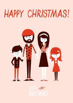 Custom Christmas Card - Love this so much!