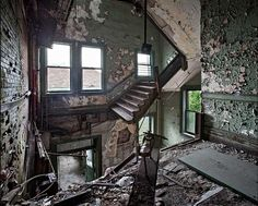 Abandoned America: one photographer's quest to document the beauty in old buildings - The Daily Nightly american dream, old buildings, stair, photograph, abandon america, abandoned homes, place, abandoned mansions, matthew christoph
