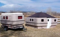 Modular campers from Teal Campers