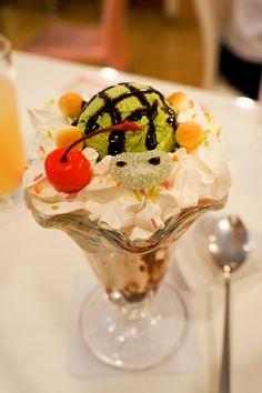 maid cafe turtle parfait | Flickr - Photo Sharing!