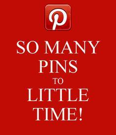 Pins Pins Pins = TIME!