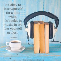 Let's get lost (in the best way possible). ❤️📚🎨🎵 #TBITalk #MondayMotivation #quoteoftheweek #books #art #music