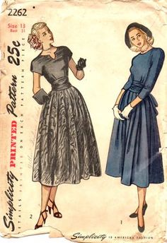 vintage sewing patterns, vintag pattern, sew pattern