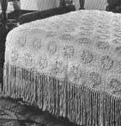 Dahlia Bedspread free online crochet pattern from crochet kitty