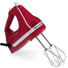 KitchenAid Ultra Power 5-Speed Hand Mixer: Great for small jobs