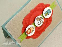 card inspir, scrapbook card, birthday invit, creativ card