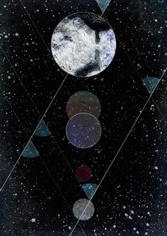 shapes and art and outer space
