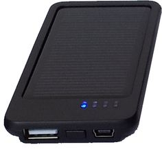 Onyx Charger-- neat solar charger for your mobile device (iPhone, Android, tablet, iPad, laptop, and more!)