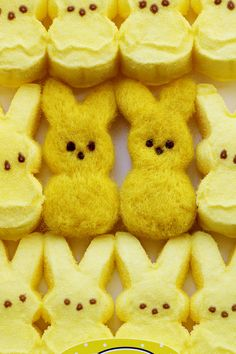 Peep bunnies, felted. #ExpressYourPeepsonality