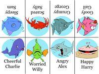 Go Fish Feelings Game - free printable