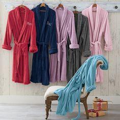 Dorm Decor; Microfleece Robes