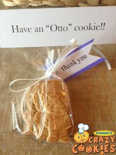 Birthday Favors - Thank you gifts - Unique - Personalized - Custom Cookies #Birthday #Ideas #Unique #Favors #Custom #Cookies