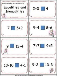 Ten Scoot games for the Common Core ... get this one for equalities and comparing numbers FREE by downloading the preview!   $