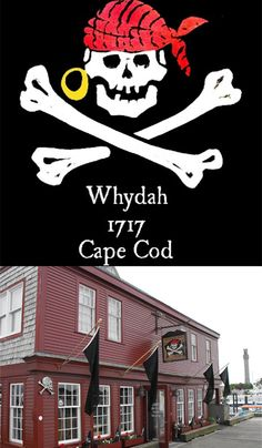 The Whydah Pirate #Museum in Provincetown. See Artifacts and Treasures of the World's Only Authenticated #Pirate Ship - The Whydah Galley - and learn the true story of her pirate captain, Samuel Bellamy, and how the wreck was discovered. The Whydah was a fast and powerful English slave ship captured by the pirate Sam Bellamy, which he made his flagship. In 1717, the Whydah went down in a fierce storm on the coast of #CapeCod.