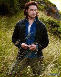 Sam Heughan, Scottish actor sam-heughan-just-jared-spotlight-01