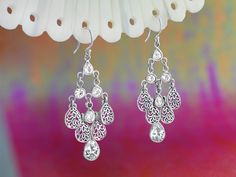 Cascading Earrings...these are adorable!