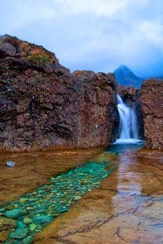Fairy Pools Isle of Sky Scotland