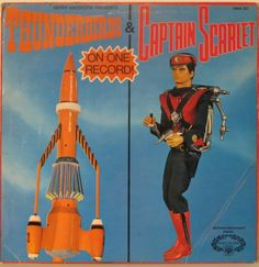 THUNDERBIRDS & Captain Scarlet on one record!