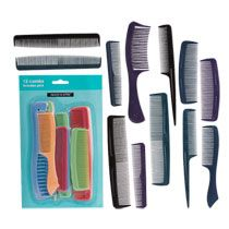 Sassy  Chic Plastic Combs, 12-ct. Packs at DollarTree.com