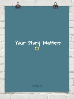 Your story matters #146988
