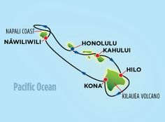Hawaii cruise itinerary