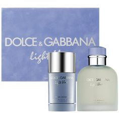 Father's Day Gift Ideas: Dolce & Gabbana Light Blue Pour Homme Gift Set : Gift & Value Sets #Sephora #FathersDay #FathersDayGifts #ForDad #cologne