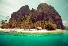 Another beautiful beach in Palawan, Philippines   #travel #wanderlust #beach #summer