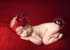 Watermark placement  FAIL newborn photographi, newborn pictur, photographi imag, babi, rich red, photo idea, headbands, photography, general idea