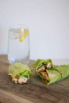 clean & lean lettuce wraps