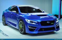Rocking Subaru WRX Concept