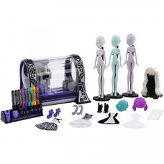 The Monster High Monster Maker machine lets kids make and dress up their own freaky and fabulous dolls.