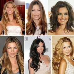 They are gorgeous gals but what they don't tell you about the hair is that they spent thousands on their hair extensions to make these styles work =)