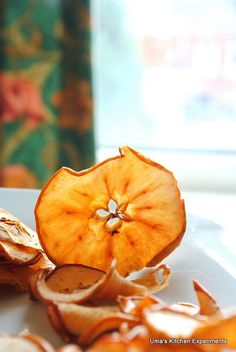 Healthy apple chips #chips #snacks #food #healthy
