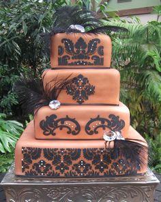 CAKE TWO HUNDRED THIRTY ONE, Wedding Cakes by Dawna, LLC - http://www.utahcakes.com/caketwohundredthirtyone.html